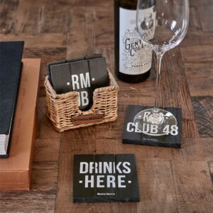 Glasbrikker - RM Club 48 Coasters