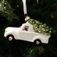 Julekugle bil - Winter Car Ornament