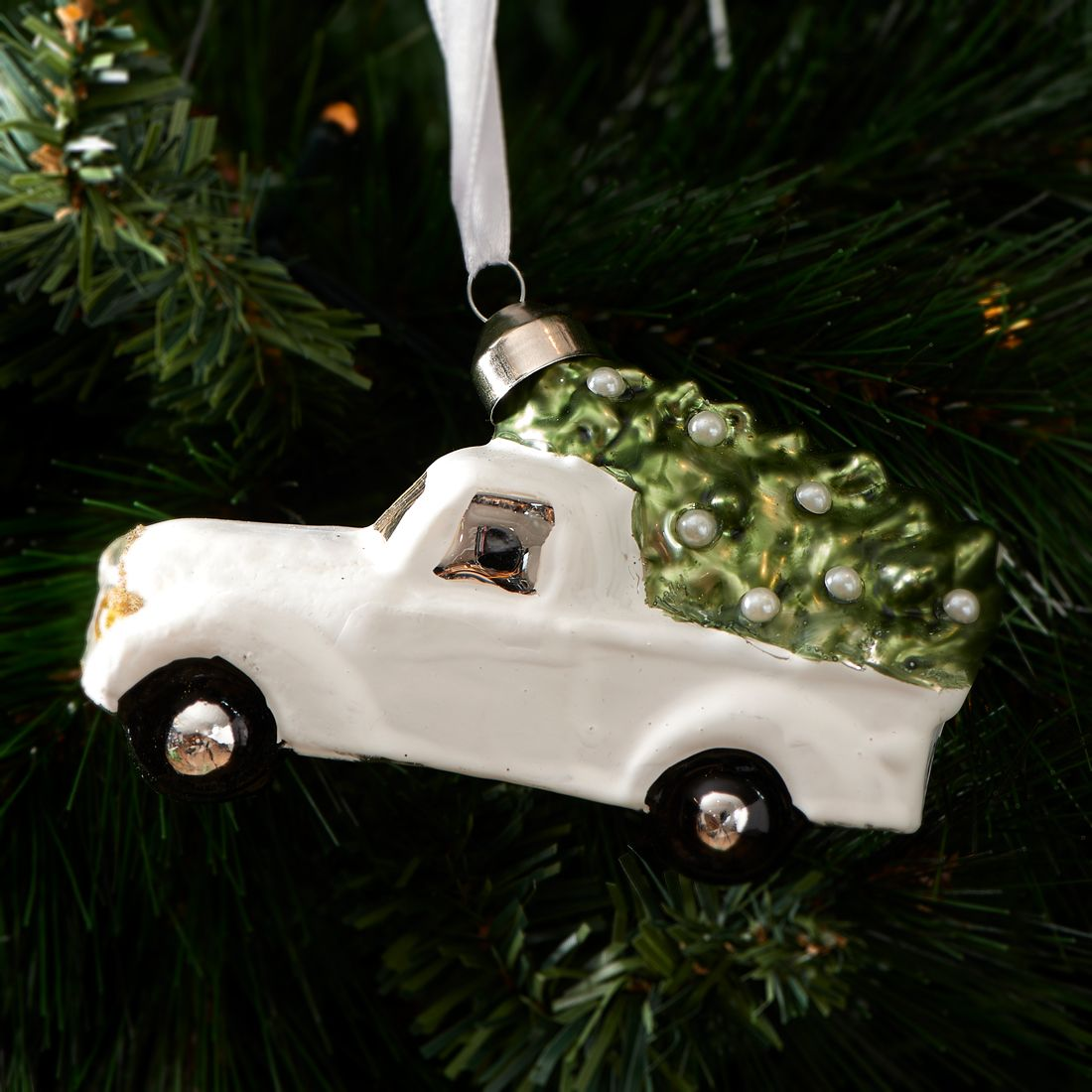 Julekugle bil – Winter Car Ornament