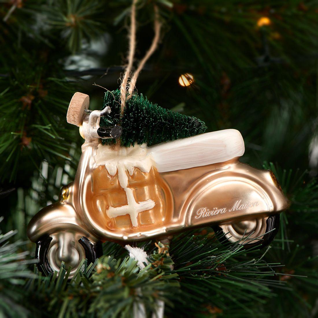 Julekugle scooter – Christmas Scooter Ornament