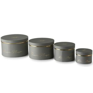 Gaveæsker - RM Luxurious Giftbox grey S/4