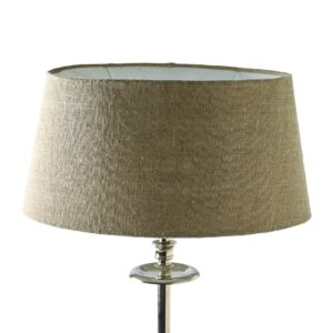 Oval lampeskærm - Fabulous Oval Lampshade flax 23.5x33