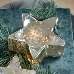 Stjernelys med LED lys - Sparkling Star Light M