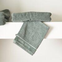 Vaskeklud - RM Elegant Washcloth moss