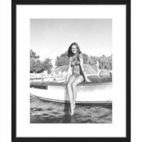 Billede - Brigitte Bardot Posing 50x60 cm