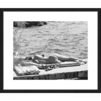 Billede - Brigitte Bardot Sunbathing 50x60cm