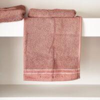 Håndklæde - RM Elegant Guest Towel plum 50x30