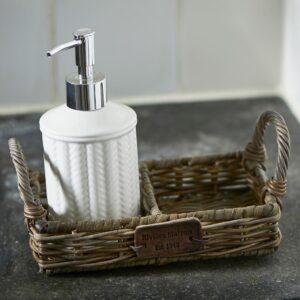 Bakke - Rustic Rattan Soap Tray