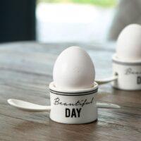 Æggebærger m. ske - Beautiful Day Egg Cup