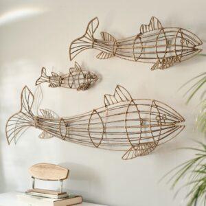 Fisk - Fabulous Rattan Fish M