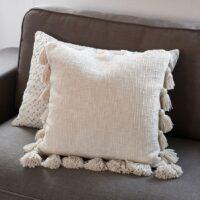 Pude - Fleur Pompom Pillow Cover