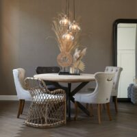Rund spisebord - Stuart Dining Table Dia 140