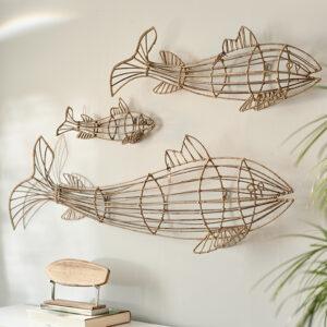 Fisk - Fabulous Rattan Fish L