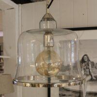 Glaslampe - glasklokke