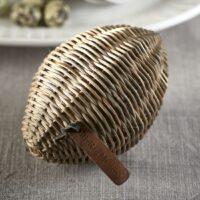Æg - Rustic Rattan Easter Egg