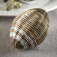 Æg - Rustic Rattan Easter Egg Stripe