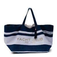 Blå Strandtaske - Soleil Summer Bag