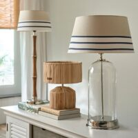 Lampeskærm - Beach Stripe Lampshade 35x45