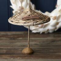 Parasol - Rustic Rattan Umbrella Decoration