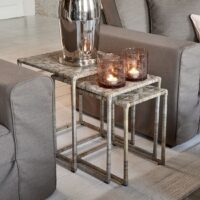 Sidebord - Medan End Table Set 3