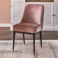 Spisebordsstol - Getty Dining Chair, velvet III, rose stain BESTILLINGSVARER