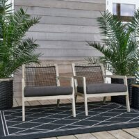 Havelænestol - The Boardwalk Outdoor Armchair incl Cushion BESTILLINGSVARER