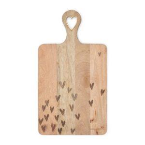 Skærebræt - Happy Hearts Chopping Board