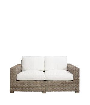 Artwood -  Hudson Rattan sofa, 2 pers. Inkl. hynder BESTILLINGSVARER