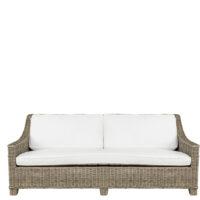 Artwood -  Madison Rattan sofa, 3 pers. Inkl. hynder BESTILLINGSVARER