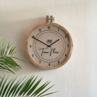 ur - RM Time Flies Wall Clock