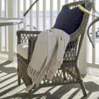 Artwood - udendørs spisebordsstol ESTELLE inkl. hynde BESTILLINGSVARER