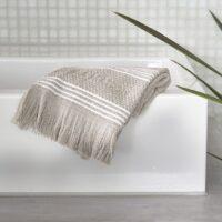 Håndklæde - Serene Guest Towel stone 50x30