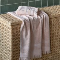 Håndklæde - Serene Towel blossom 140x70 1+1 TILBUD