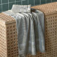 Håndklæde - Serene Towel stone 140x70