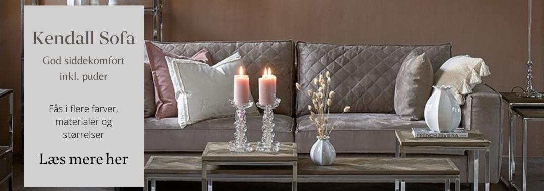 Kendall sofa Riviera Maison