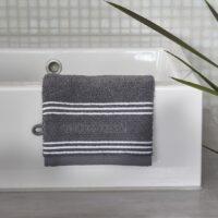 Vaskeklud - Serene Washcloth anthracite