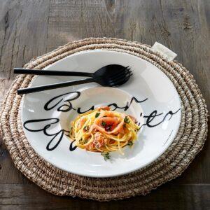 Buon Appetito Pasta Plate - Riviera Maison