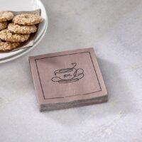 Servietter - Paper Napkin Elegant Tea Cup