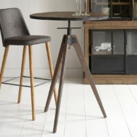 Barbord - The Whyte Adjustable Bar Table Dia 75x105/95 cm