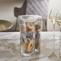 Glas opbevaring - Happy Heart Storage Jar L