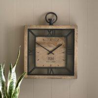 Vægur - Queens Square Wall Clock