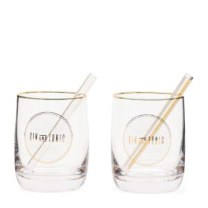 Le Club Gin & Tonic Set Of 2 pieces