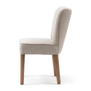 Spisebordsstol - Louise Dining Chair, mouliné linen, fabulous flax BESTILLINGSVARER