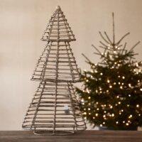 Juletræ - Rustic Rattan Pretty Christmas Tree L