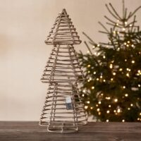 Juletræ - Rustic Rattan Pretty Christmas Tree M